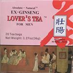 Absolute Natural Ex-Ginseng Lover's Tea For Men 20 TeaBags